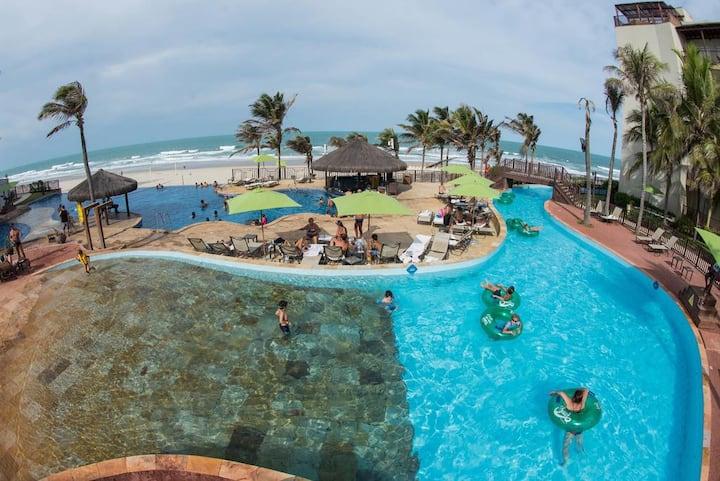 Apto mobiliado no Acqua Resort