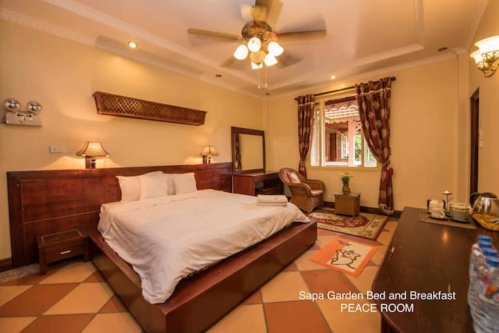 Sapa Garden Bed and Breakfast- Peace Room