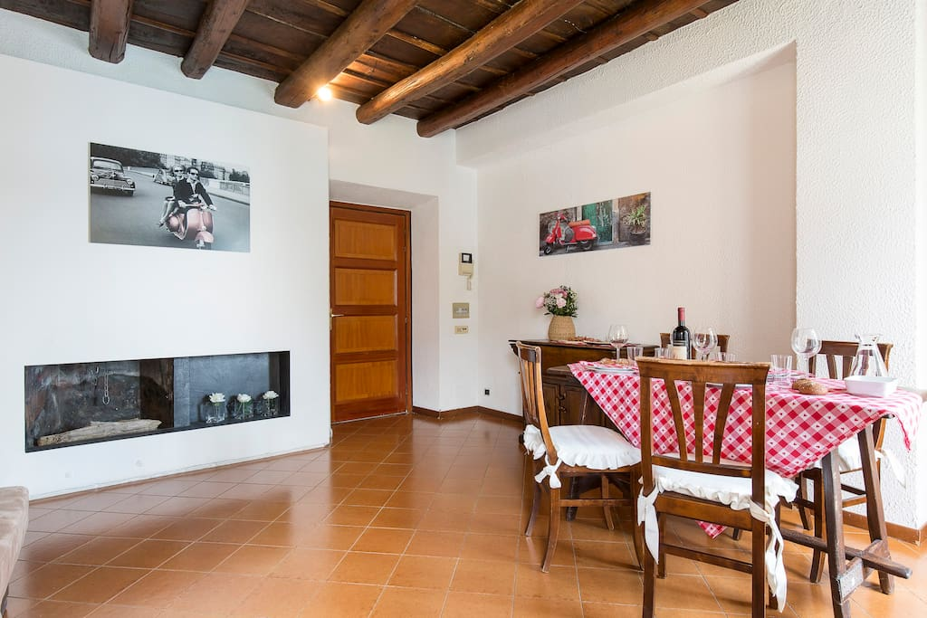 Sala/ Living and dining room