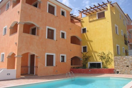 Splendido Bilocale in residence con piscina - Santa Teresa Gallura - Appartement