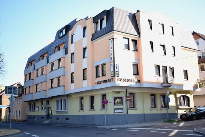 Urgemütliches Hotel Post in Neckarsulm