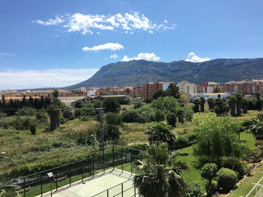 Vista desde el balcón 3