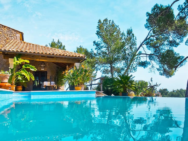 Son Duri, beautiful villa with private pool