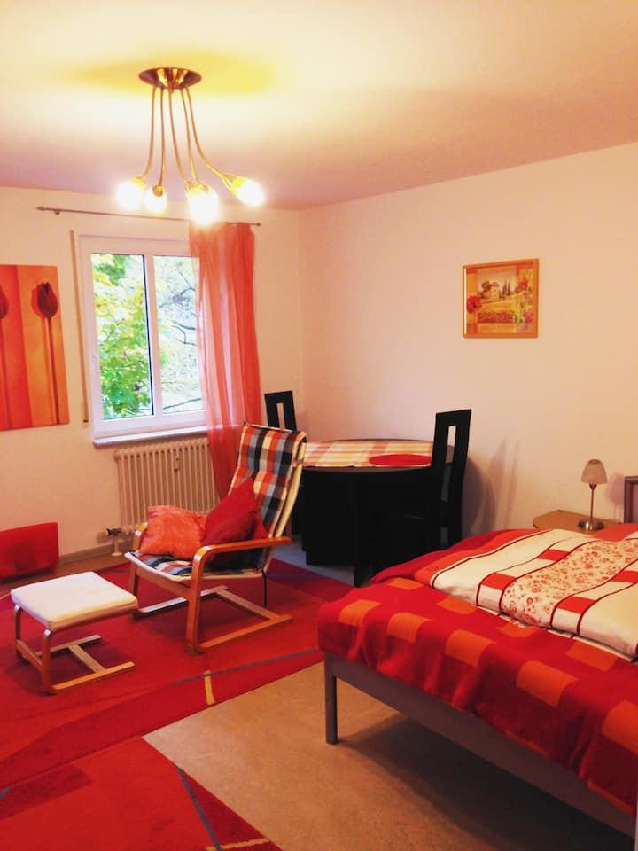 Zentral gelegen, sehr gepflegt:  Appartement in KA