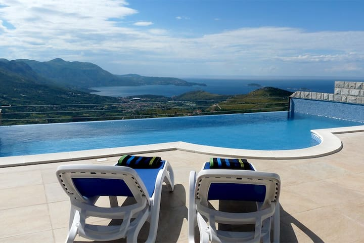 Luxury Villa Olive with pool+Jacuzzi - Dubrovnik