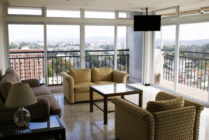 Apartment 360 view of the City!
