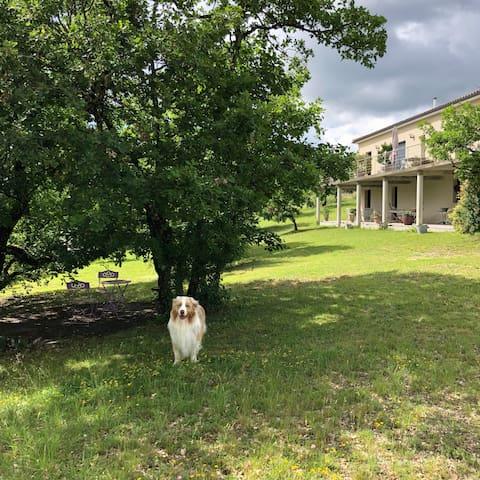 Vacances au calme au cœur du Quercy Blanc