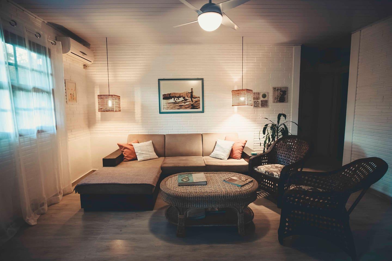 Aconchegante sala de estar!!!