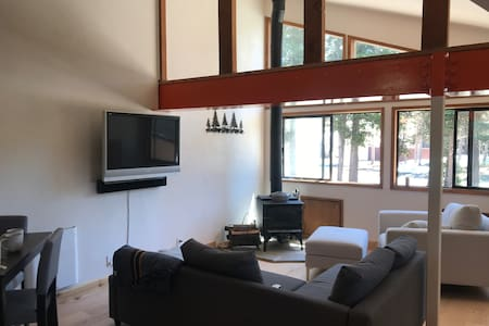 Upgraded, bright mountain retreat in Bear Valley