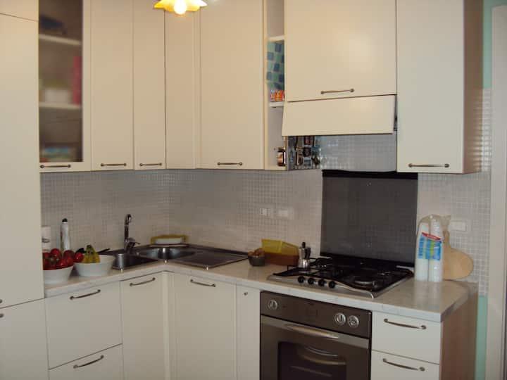 Appartamento  4 persone, tutti i confort e garage