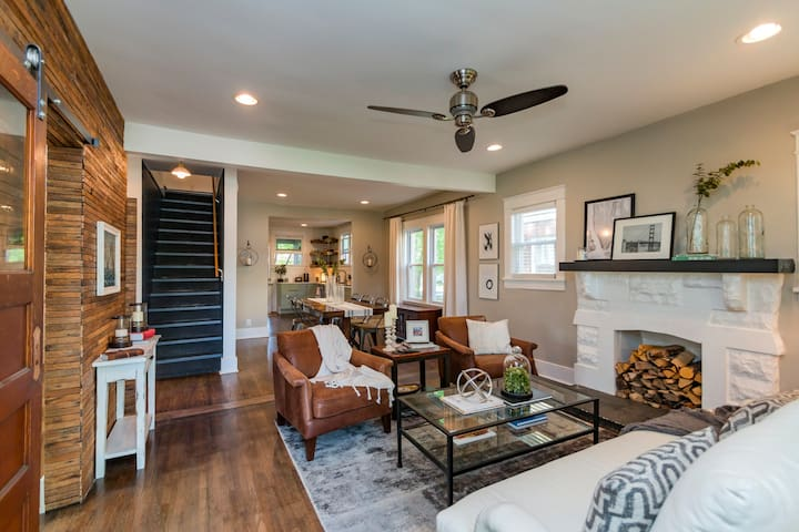 Cozy 1920s Cottage in 12th South - Nashville - House
