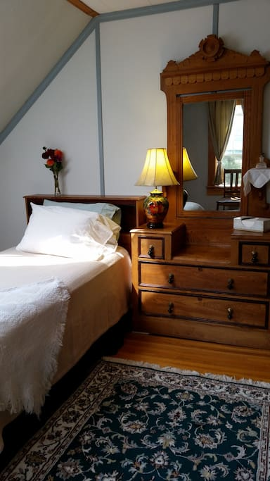 Mt. Harris Room, snug and quaint, $60