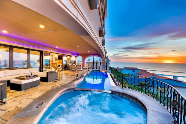 Ocean Views, Walk to Beach, Luxury Accommodations + Pool