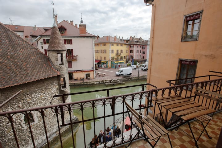 Apartment with amazing view in the old town - Annecy - Apartamento