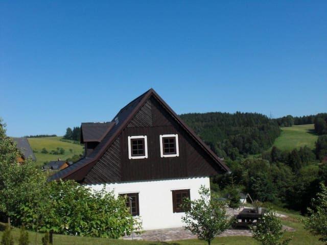 Roubenka Panorama, Vidochov-Stupná - Vidochov - Dağ Evi