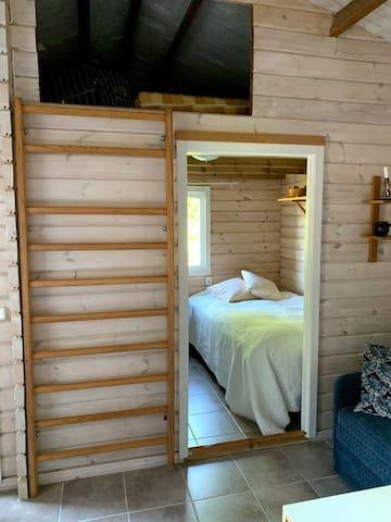Bedroom and loft