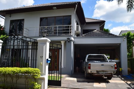 Modern 2 Story House With Pool Chiang Mai