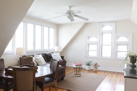 1 Bedroom w/roof deck & minutes to Manhattan - Weehawken - Casa