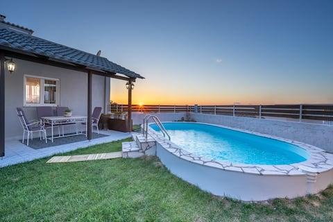 Fontana Luxury Villa Salakos With Private Pool