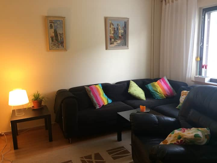 Nice 2 room apartment, metro 16 min to center