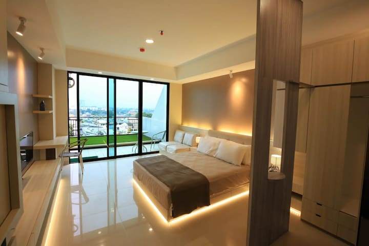 Room View with Balcony