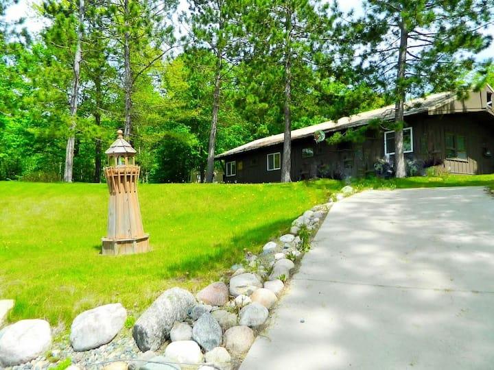 #6 Cozy Cabin at Woodland Resort on Pokegama Lake