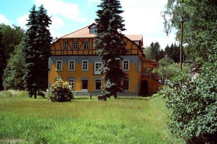 Geräumige Villa in Großschirma mit Garten