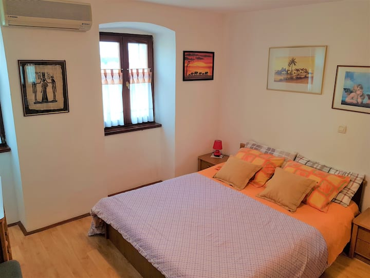 Noemi room with bathroom and kitchen use, WiFi