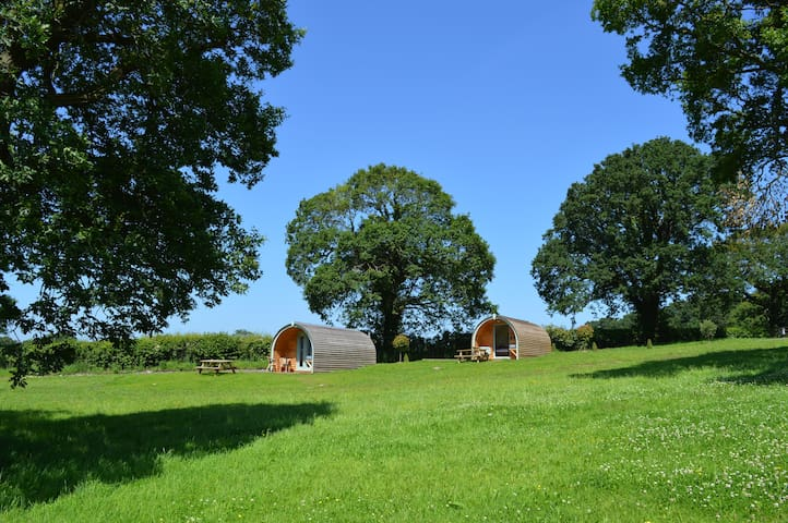 Luxury Glamping Pods near Chester