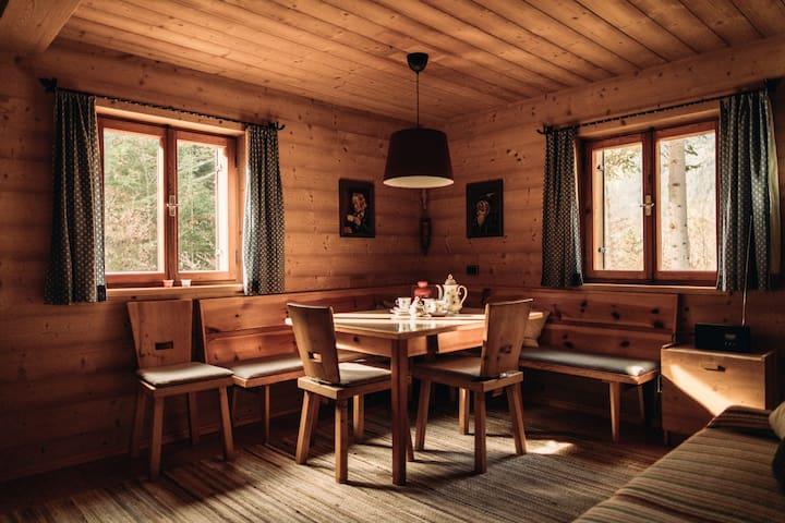 Wohnzimmer Buchner Hütte
