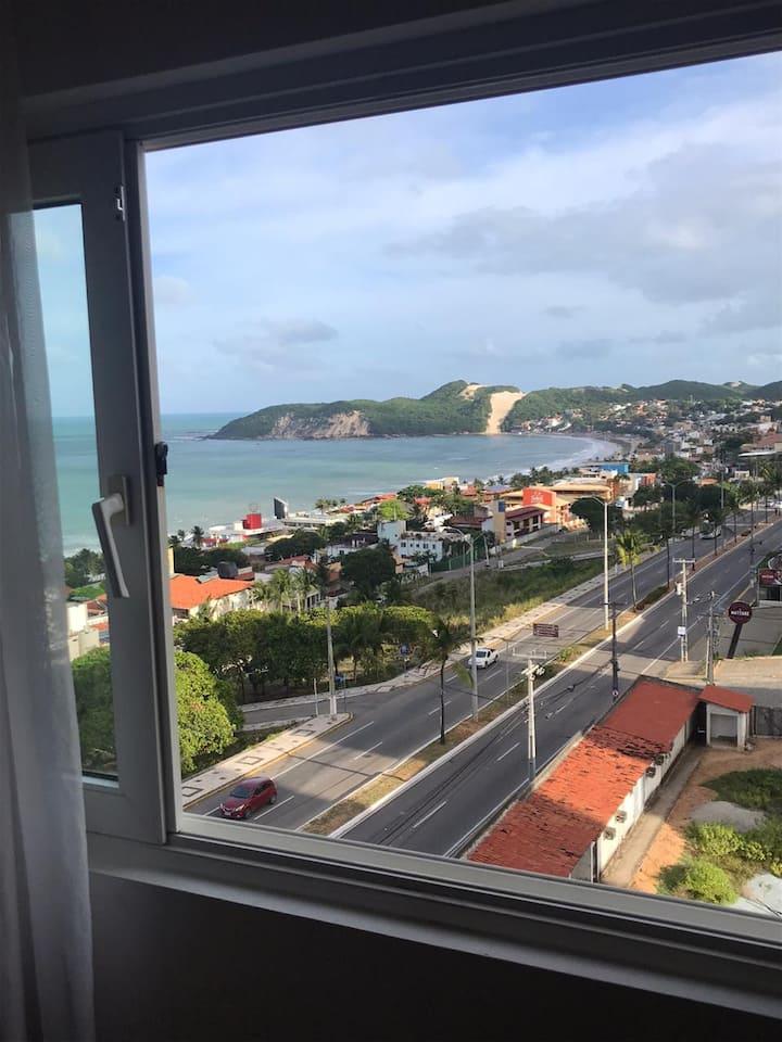 Flat em Ponta Negra/Natal - com vista para o mar