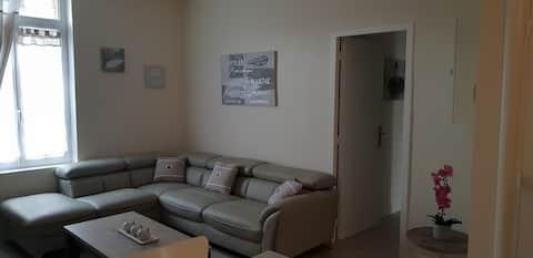 Appartement avec parking privé WIFI Inclus