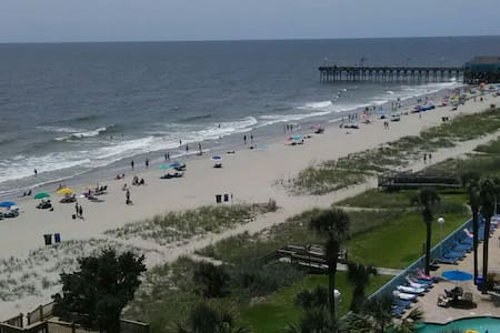 Oceanfront resort Private Bed/Bath Myrtle Beach SC
