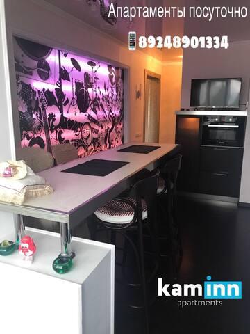 2 х комнатная квартира в стиле ночного клуба