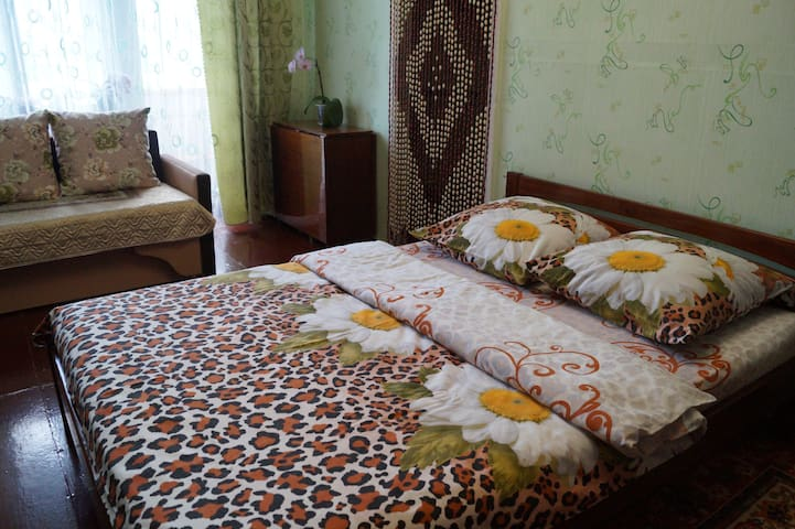 Квартира на Льва Толстого, дом 52 (центр города).