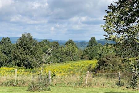 Mountain Farm Get Away on 70 acres