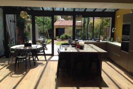 Charmante maison jardin très calme - Pont-Saint-Martin - Casa