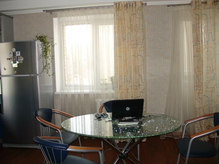 уютная квартира для 6 гостей