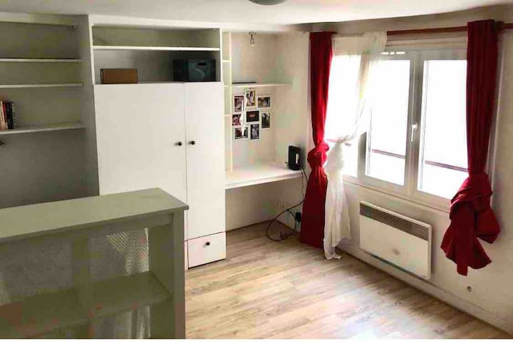 Calm and cosy studio located in the heart of Paris