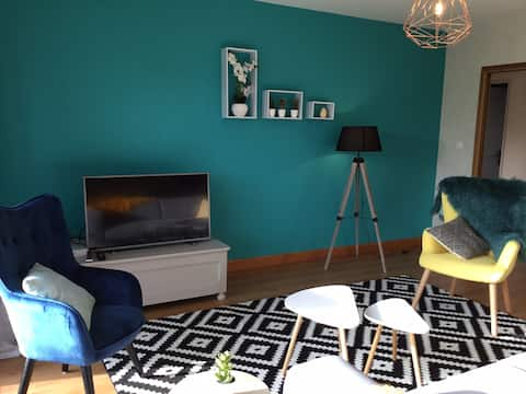 Modern 3 bedroom house between Saintes and Royan