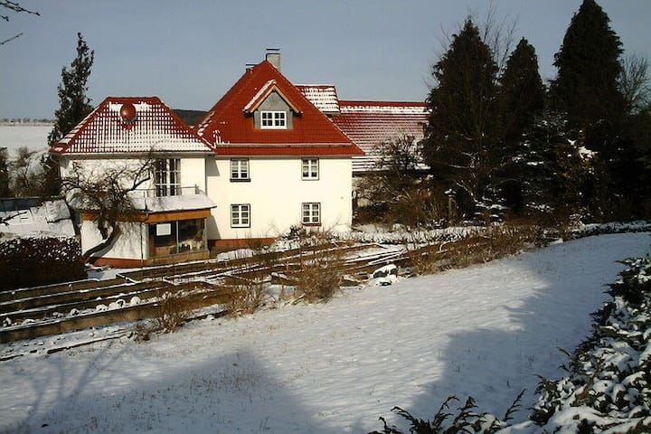 Holiday farmhouse with many animals and modern apartments in hiking- and cycling area