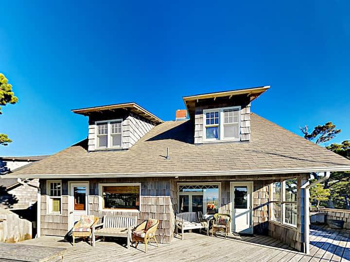 Charming Home w/ Fireplace & Deck – Walk to Beach