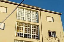 Galería, exterior edifício