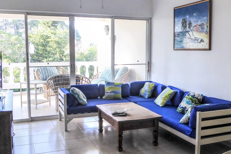 Condo C4 Living Room, Balcony View