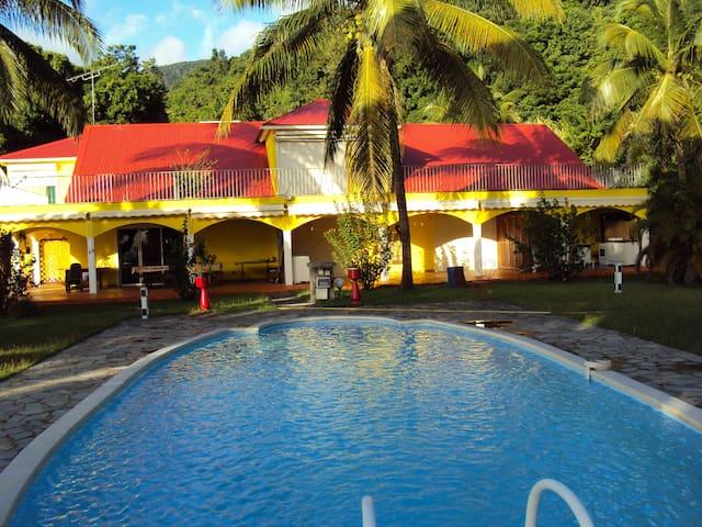 Guadeloupe-Paradisio Colibri - Pointe-Noire