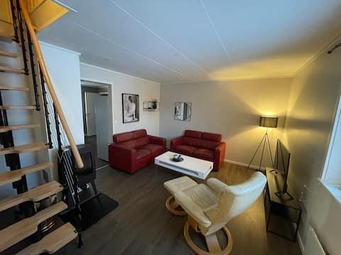 central apartment/townhouse