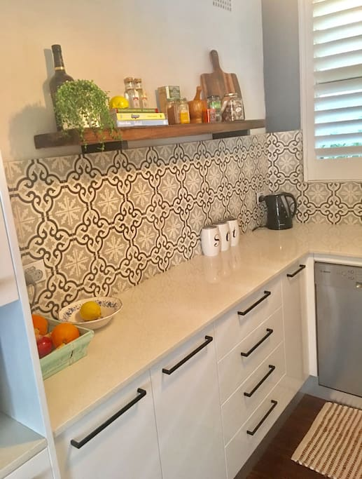 Functional kitchen with all your needs