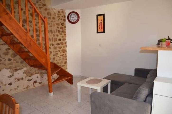 Superbe maison de village à la motte d'Aigues