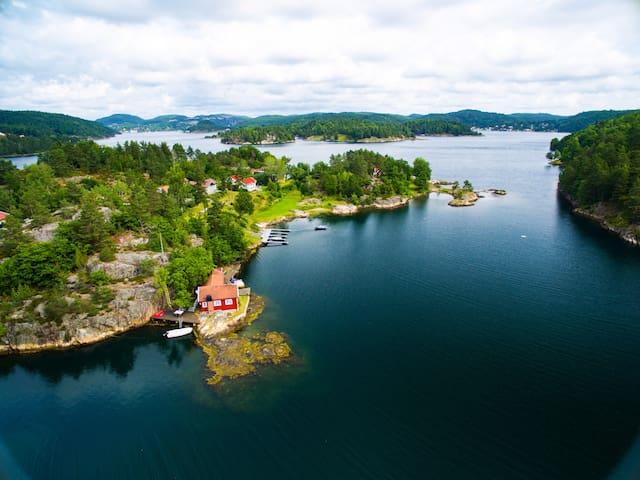 UNIK NYOPPUSSET SØRLANDSHYTTE TVEDESTRAND - Tvedestrand