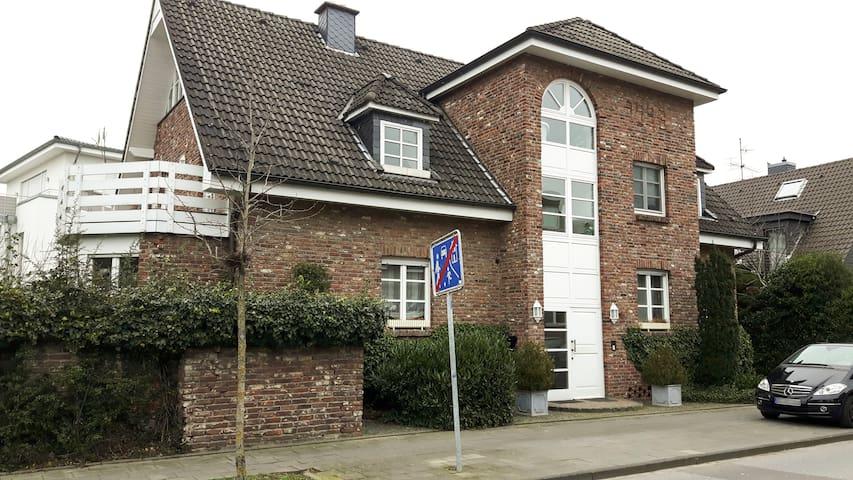 Superfair walk-down Apartment 60 sqm Düsseldorf - Meerbusch - Apartamento
